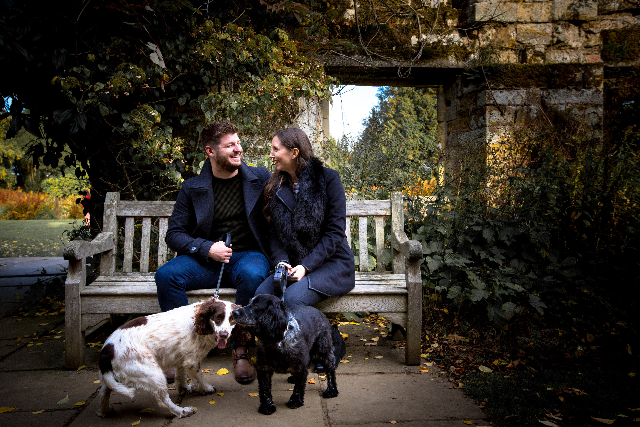 Scotney-Castle-Kent-London-Wedding-Photography-dogs-14