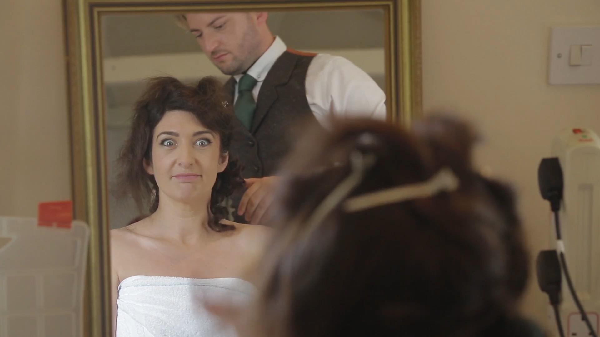 marryoke-hair-bride-mirror-wedding-videography-norfolk