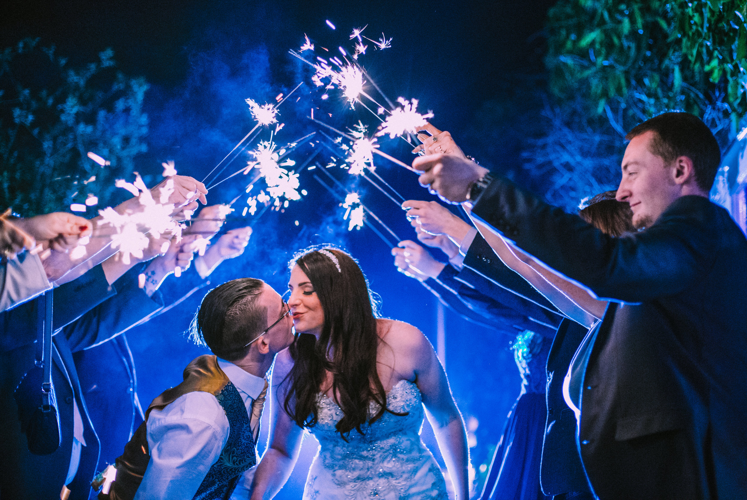 northbrook-park-farnham-hampshire-winter-spring-wedding-photography-sparkler-arch-65