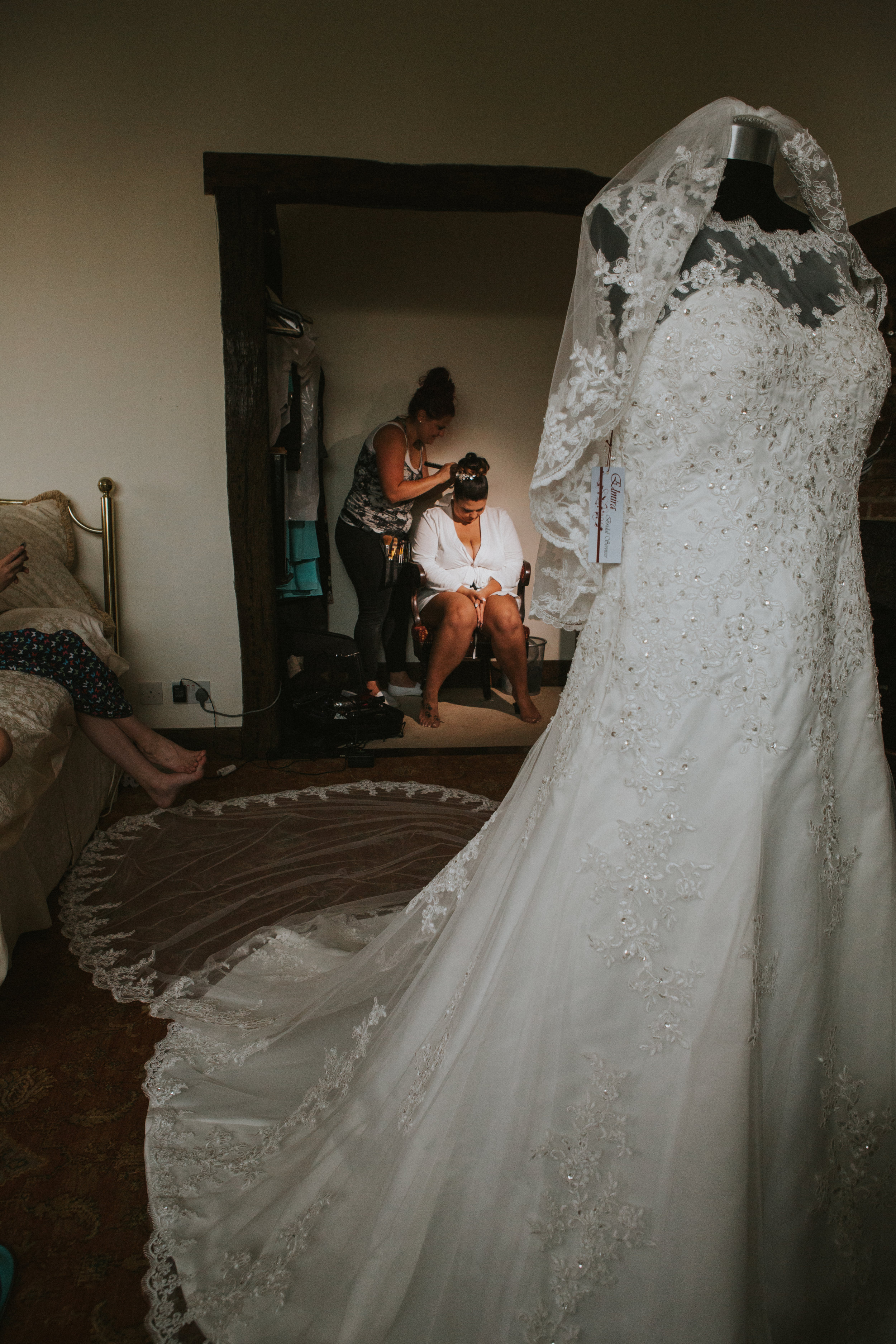 westenhangar-castle-kent-london-wedding-photography-bridal-prep-dress-15