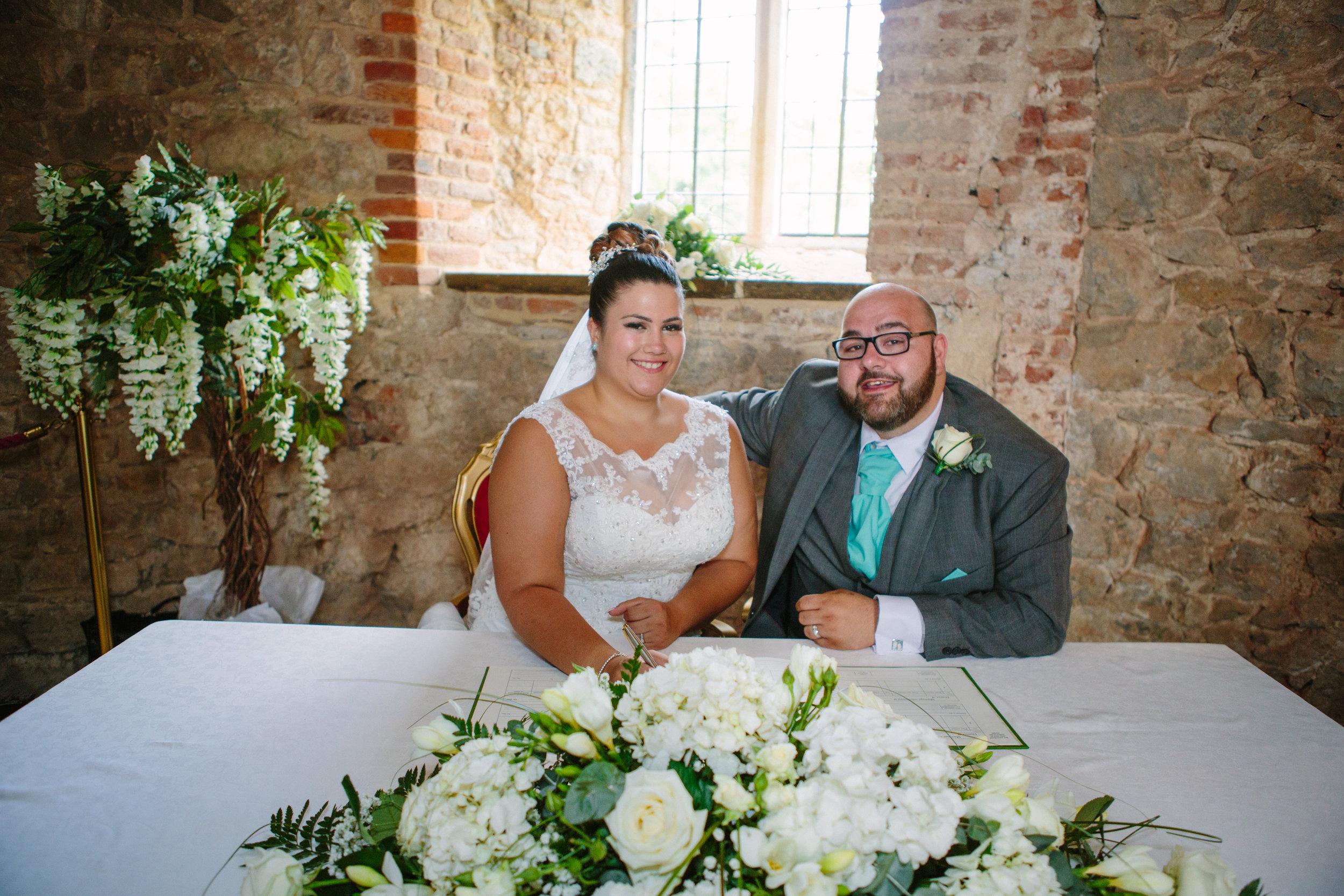 westenhangar-castle-kent-london-wedding-photography-signing-register-42