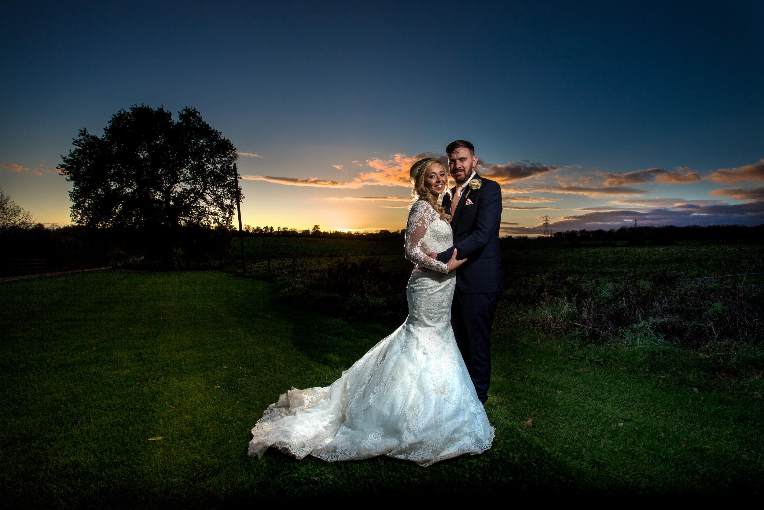 london-hertfordshire-wedding-photography-milling-barn-portrait-sunset-601