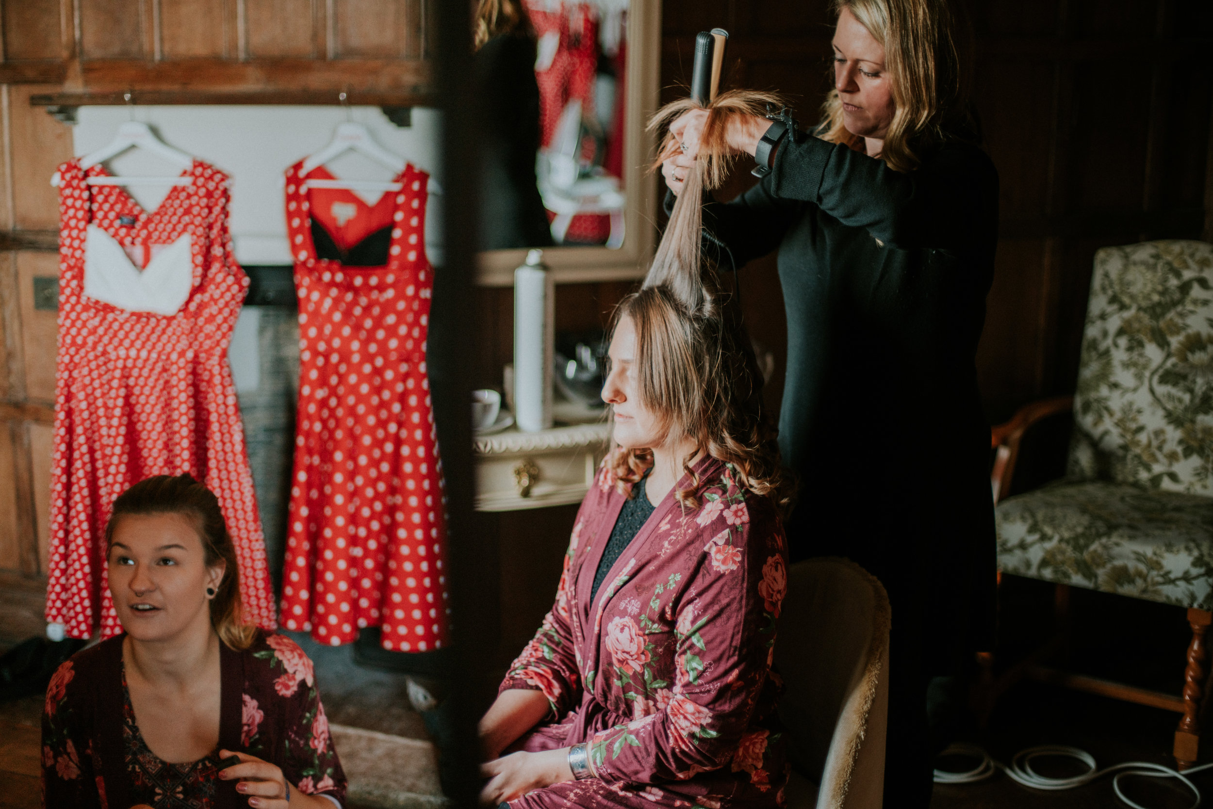 london-kent-wedding-photography-lympne-castle-bride-prep-06