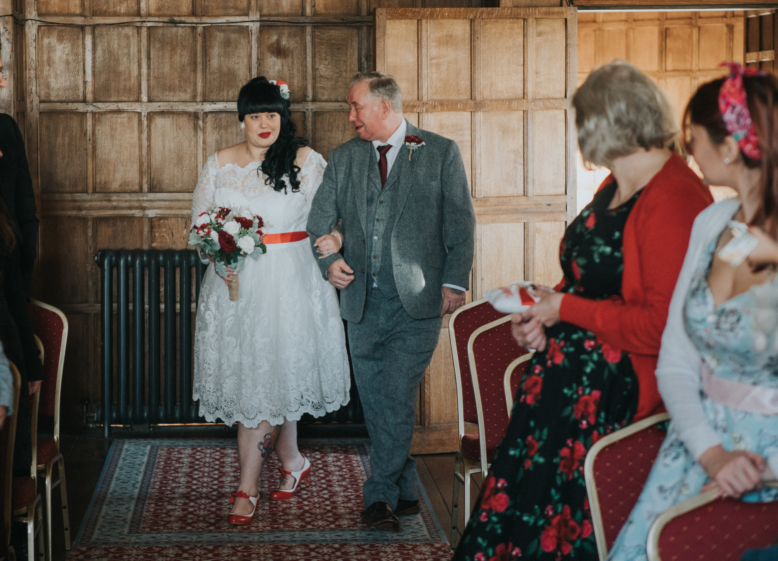 london-kent-wedding-photography-lympne-castle-ceremony-19