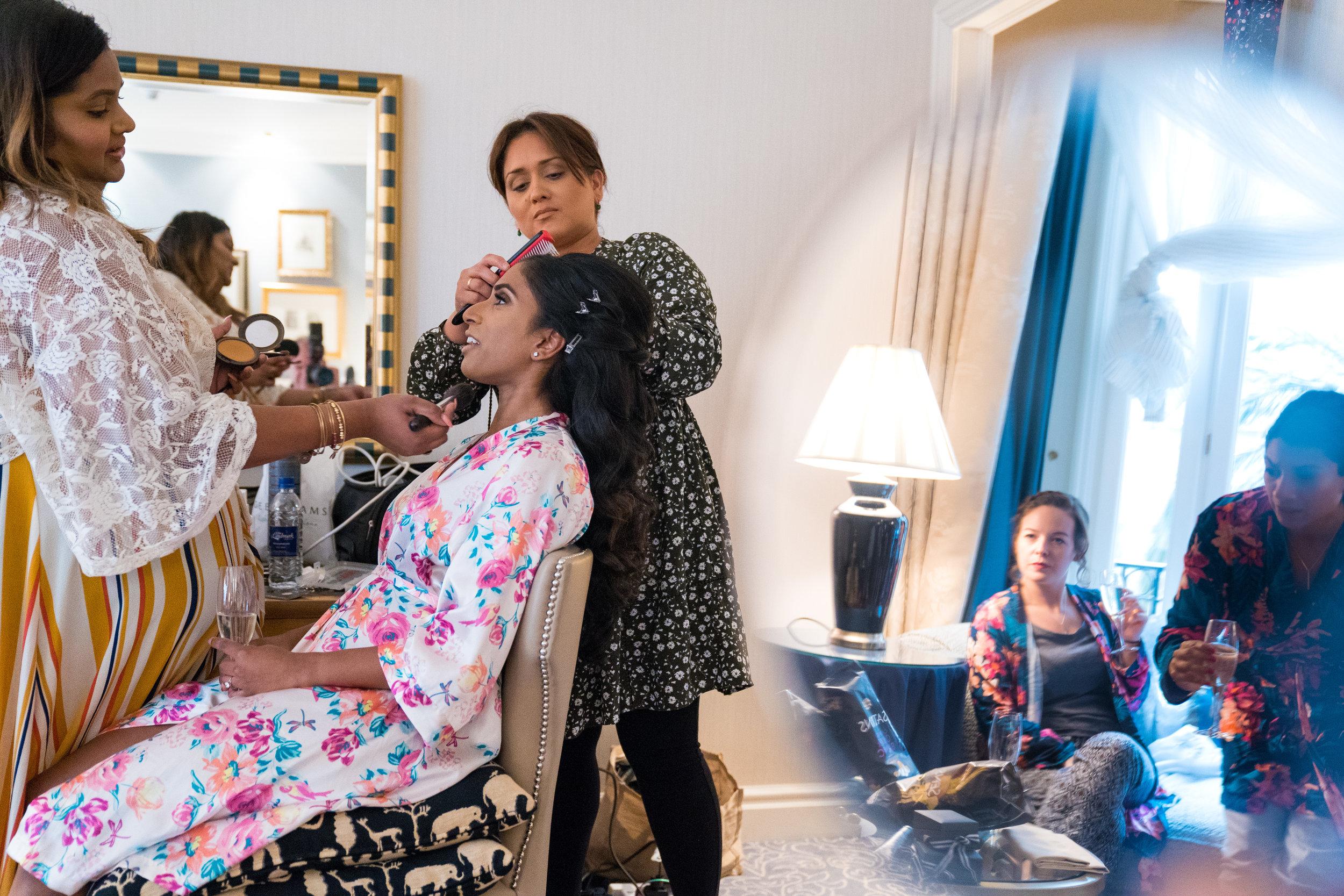 anglo-asian-hindu-civil-wedding-photography-videography-london-portrait-landmark-hotel-3