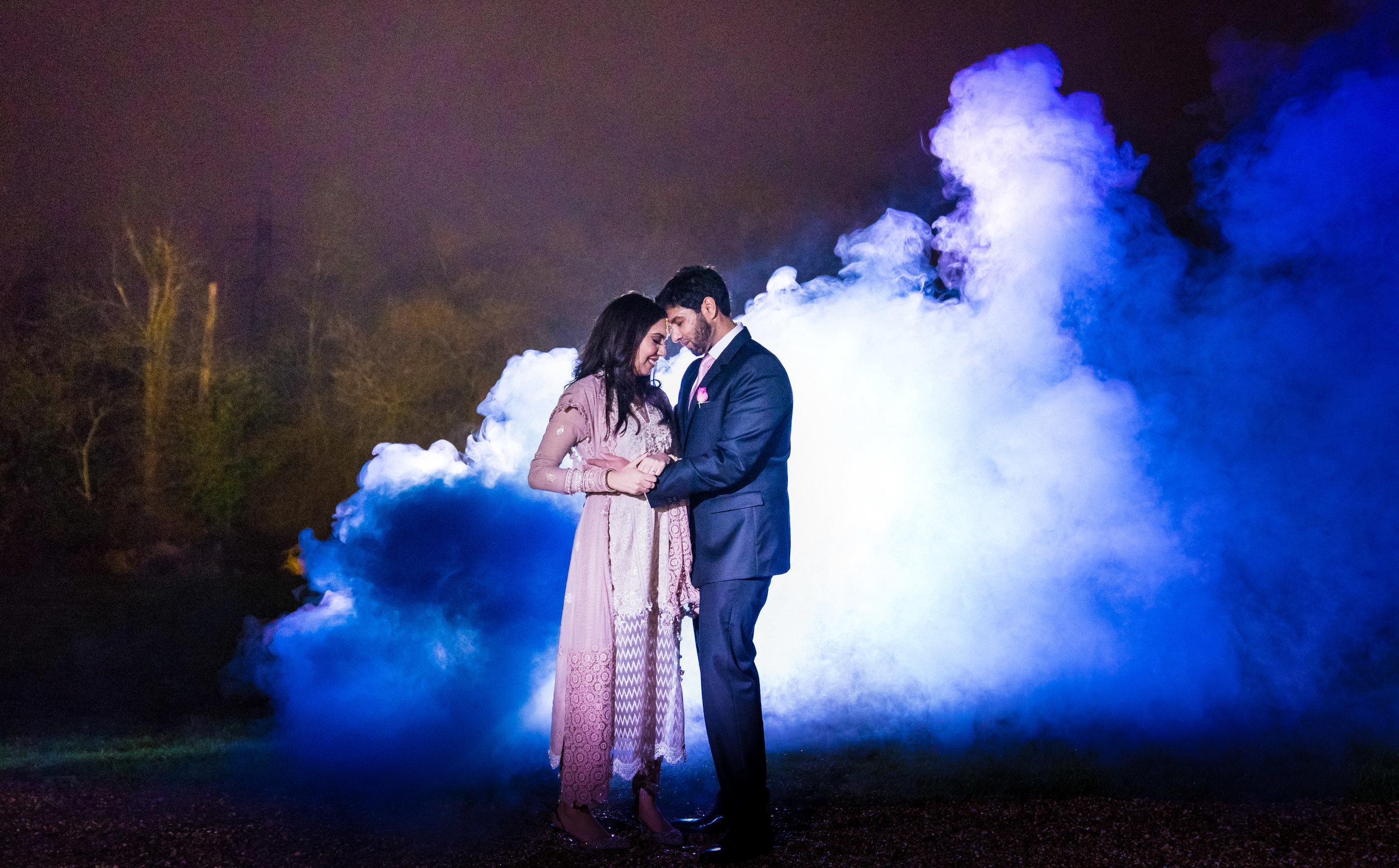 buckinghamshire-london-winter-wedding-photography-videography-smokebomb-01