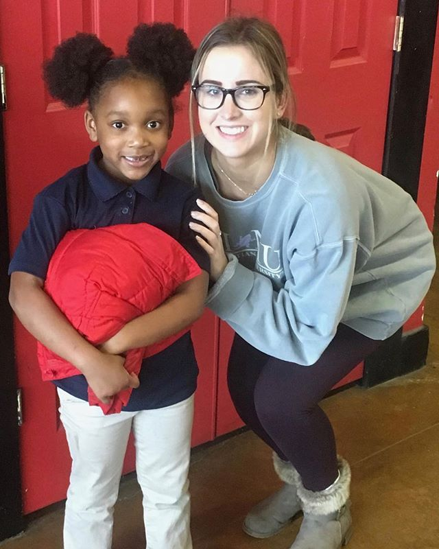 "January is National Mentoring Month! To celebrate, we are highlighting some of the awesome volunteers who devote an hour each week to mentor one of our kids.  Today's spotlight is on Claire who mentors 2nd grader Willow. On a normal mentor day you can most often find Claire and Willow dancing or playing outside.  When asked what Claire feels she contributes to her mentee, she said, ""that I truly care for her and that she is loved and worthy to accomplish so much in her life."" Claire hopes she is able to continue to work with Willow as she grows and learns new things.  We love mentors like Claire who give of their time and talents to benefit one of our kids. Do you have an hour a week to invest in a life? We recently enrolled 6 new After School kids that are looking for a mentor. If you are interested, check out the link in our bio and apply! #mentoring #nationalmentoringmonth"