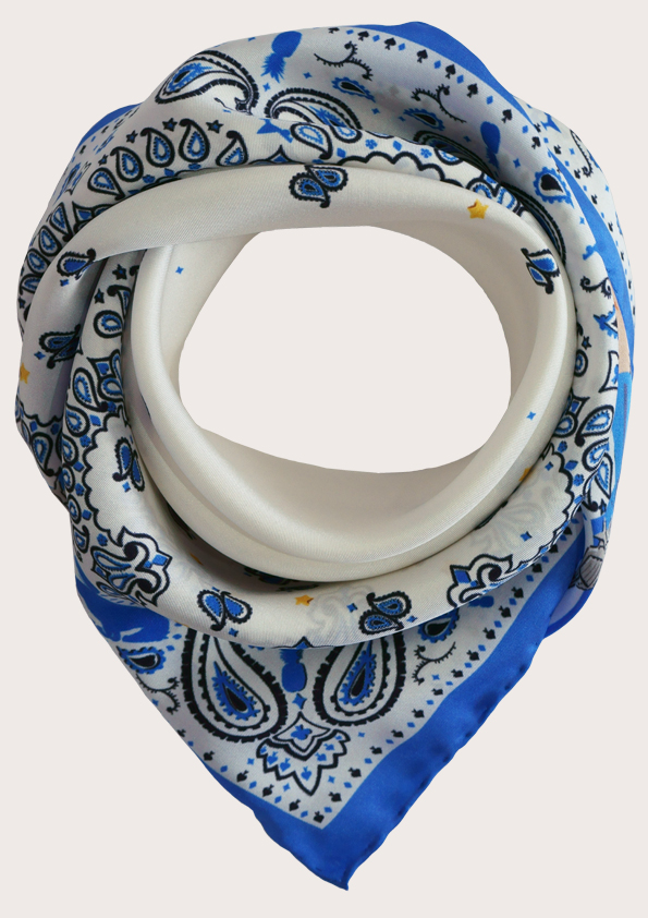 Win a small Cowgirl silk scarf