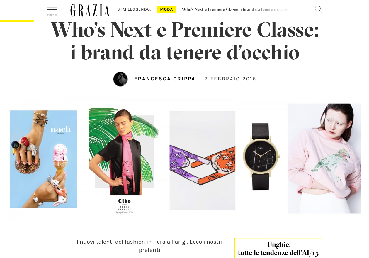 Animal Long Scarves in Grazia Italia- Who's Next e Premiere Classe.png