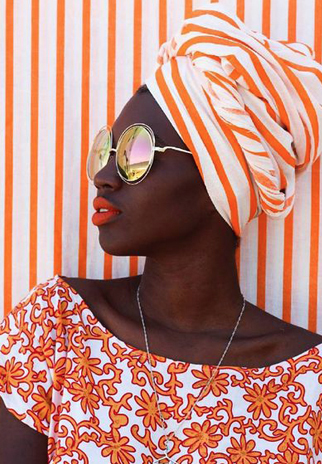 how to tie the turban knot