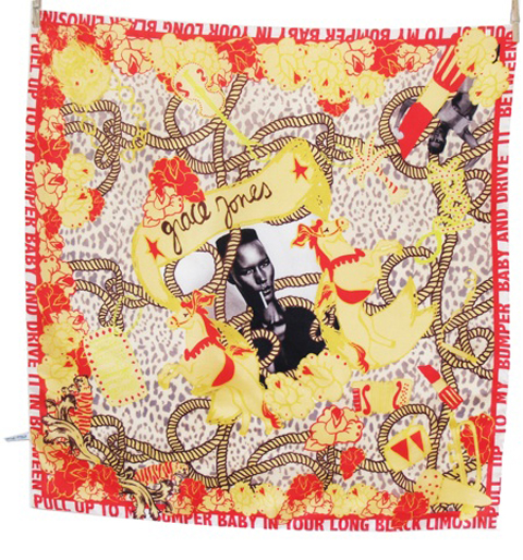 Designer vintage scarf