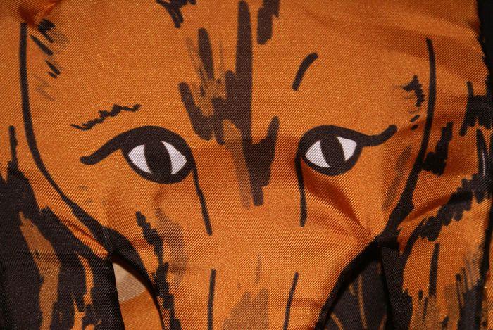 Designer Fox Scarf as seen on Kingdom of Style
