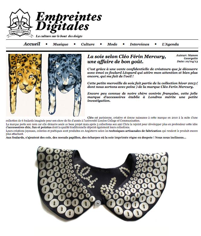 Designer jaguar silk scarves