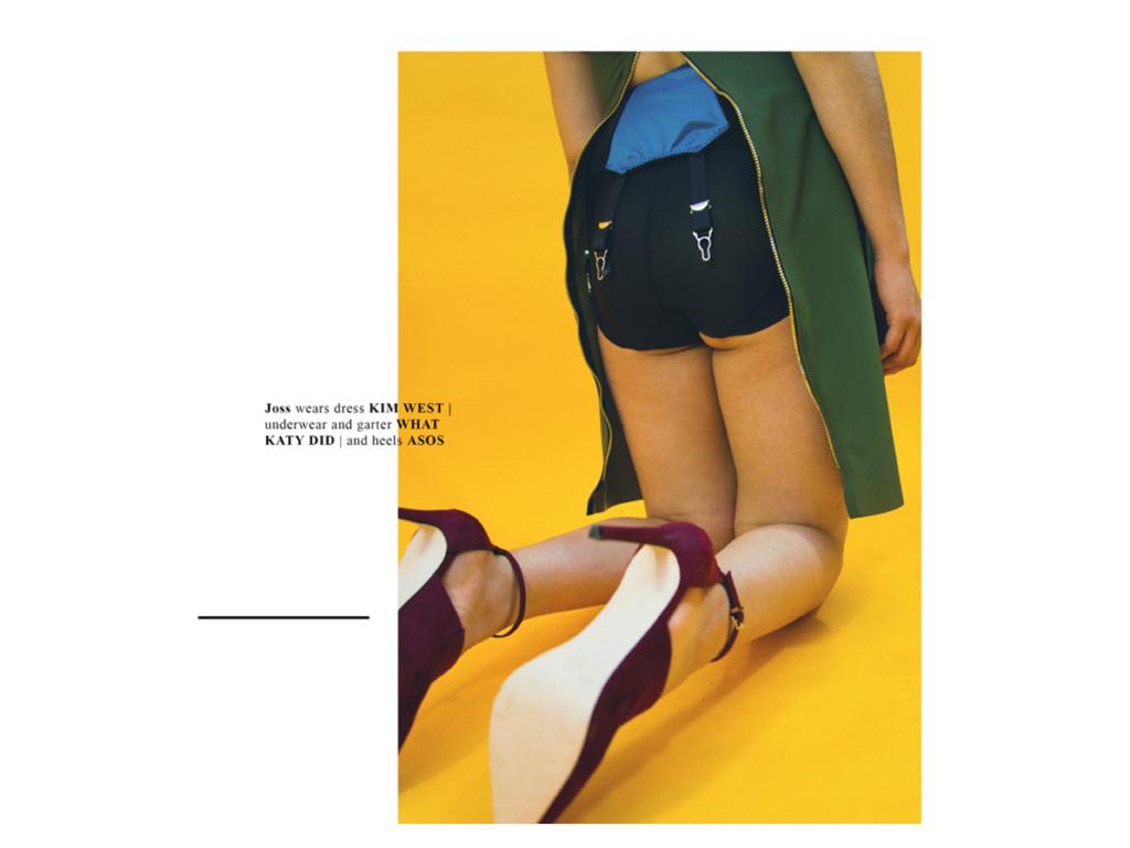 Designer Silk Scarf as seen in Thiiird MAgazine