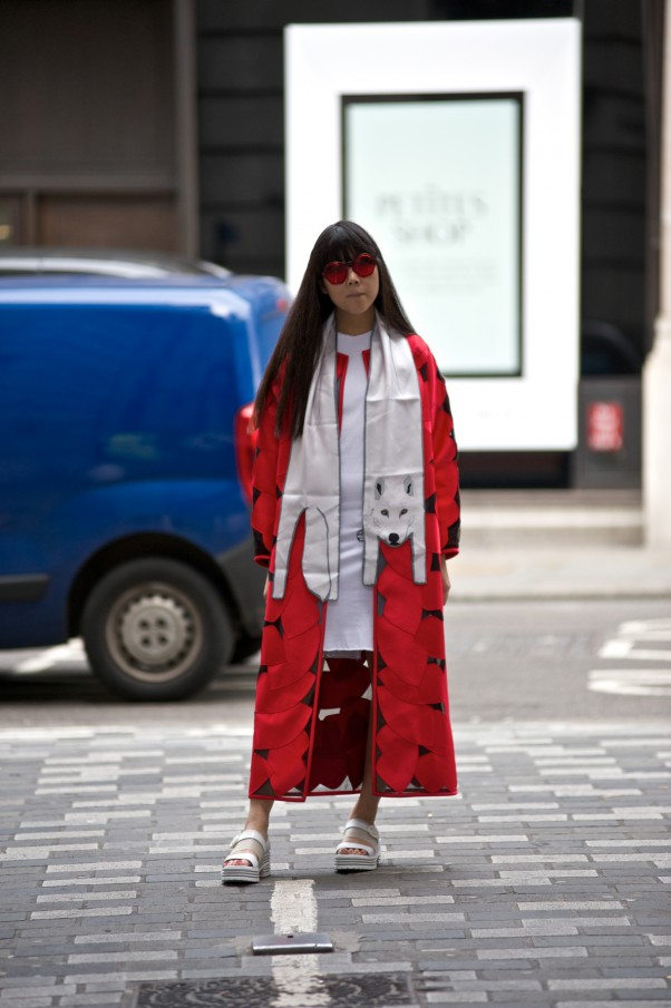London Fashion Week The Daily Susie styles it