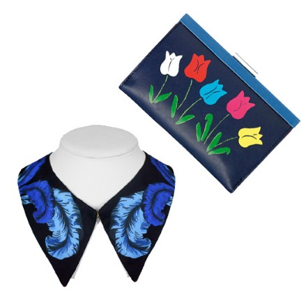 Tashion Telegraph - 50 accessories to perk up January - Designer silk collar
