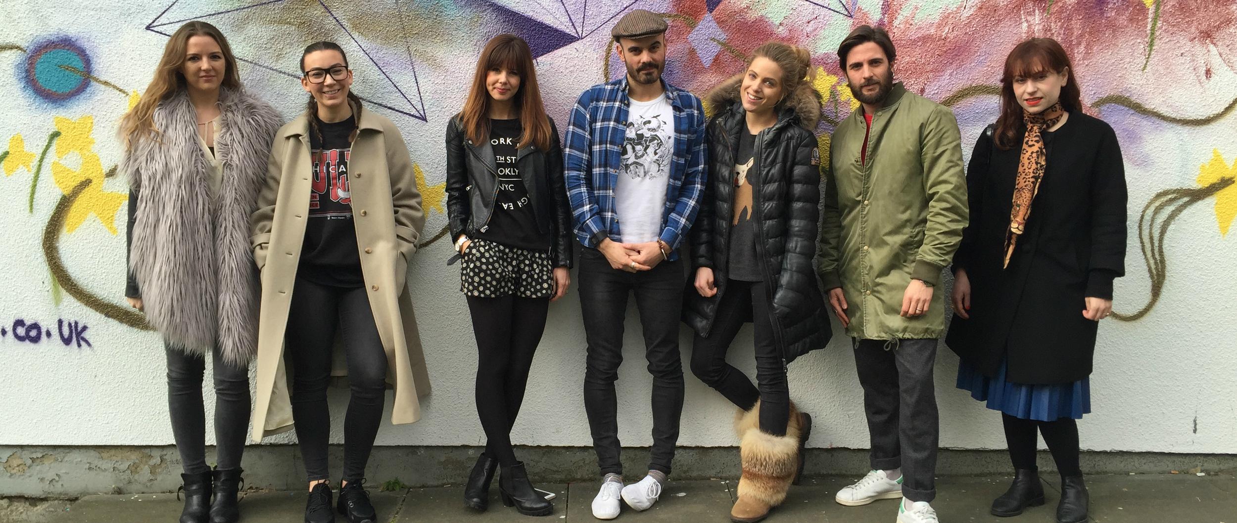 Hoxton Fashion w Supermalt: Lost Ink, Cleo Ferin Mercury + Taylor Taylor