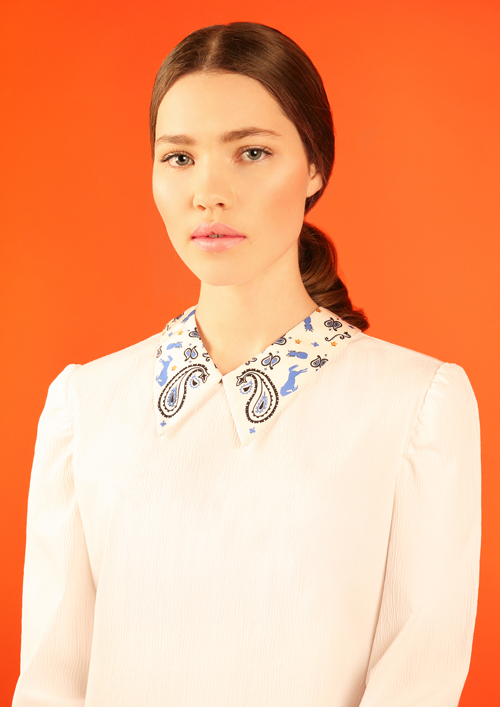 Cléo Ferin Mercury - Designer Detachable Silk Coller - Paisley Silk Collar.jpg