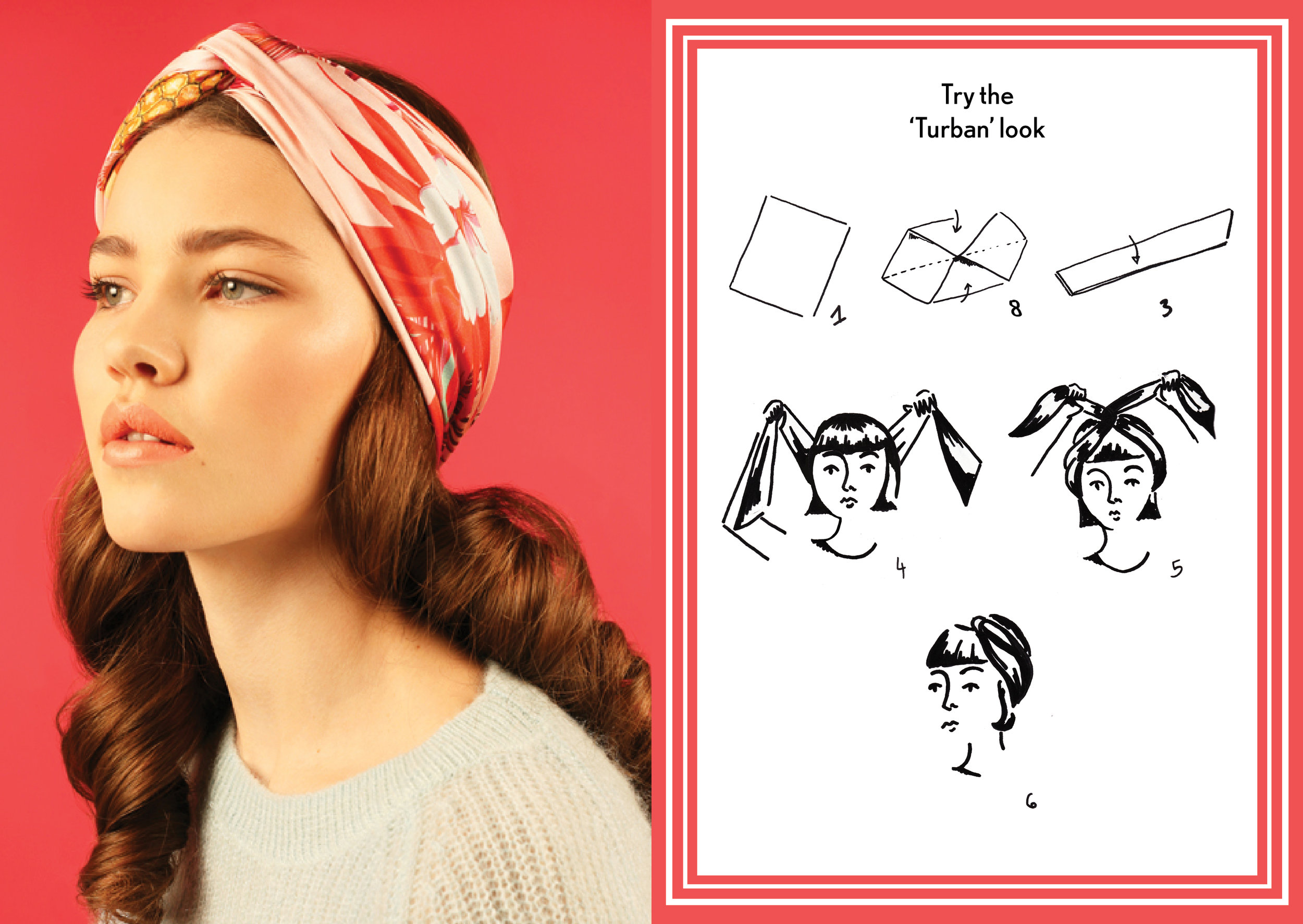 Turban Look AW15 Americana - how to wear a silk scarf - Square Silk Scarf.jpg