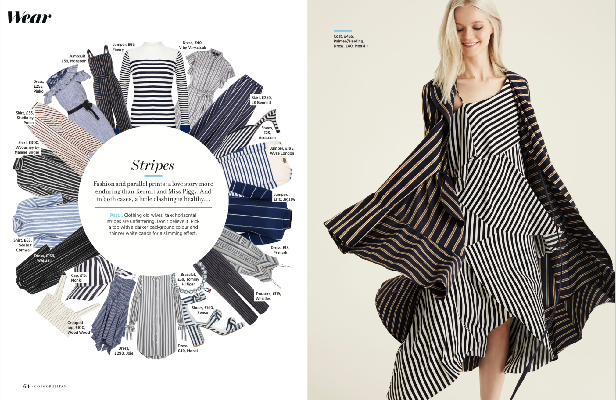 Cleo Ferin Mercury Cosmopolitan Magazine Ivy Watson Stripes.png