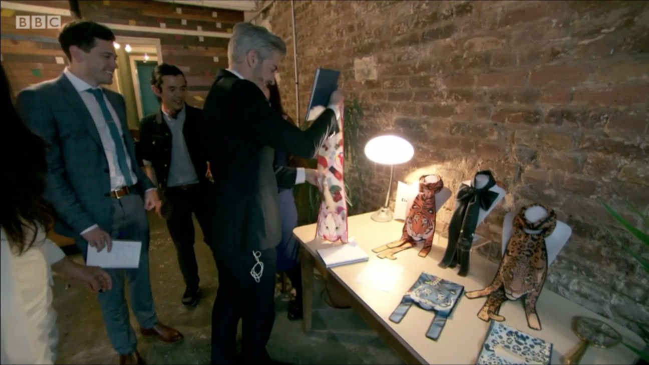 The Apprentice 2016 - Cleo Ferin Mercury - Designer Silk Animal Scarves - 動物圍巾.png