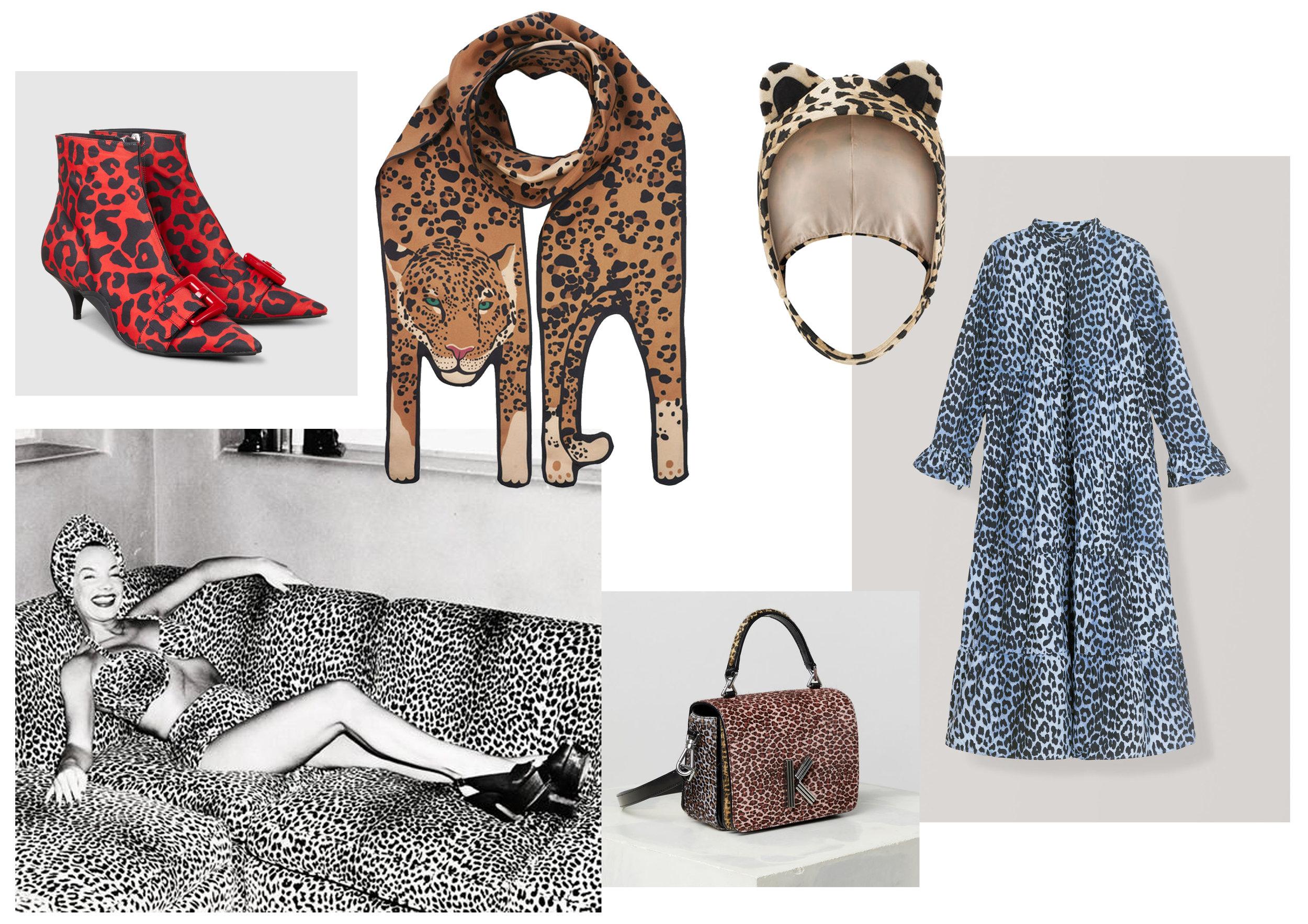 时尚风格 - cleo ferin mercury - 丝巾 - 动物印花 - 美洲虎印刷品 - 豹纹.jpg