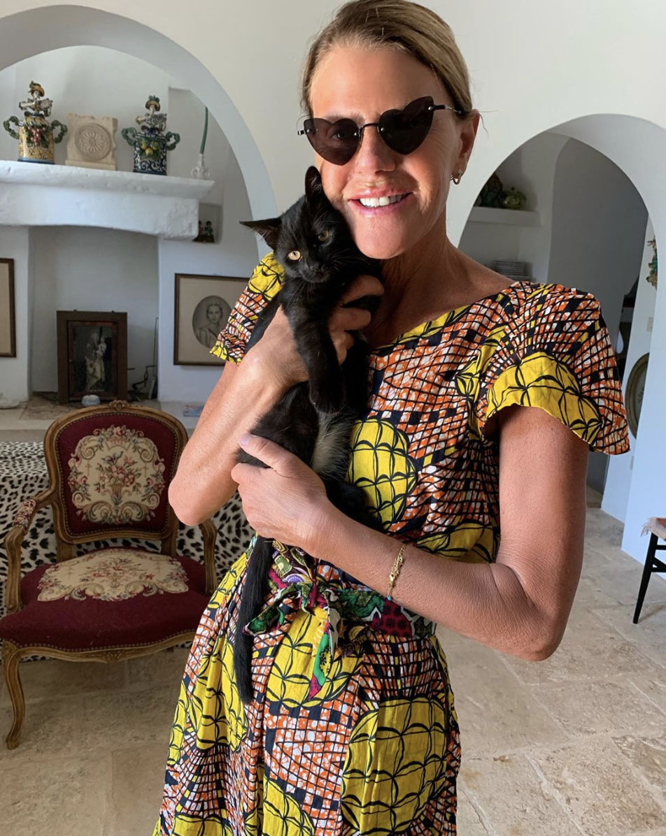 Anna Dello Russo & Irina Pampered Pets and their Famous Owners.jpg