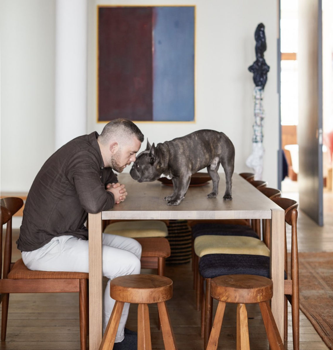 Russel Tovey & Rocky Pampered Pets and their Famous Owners.jpg