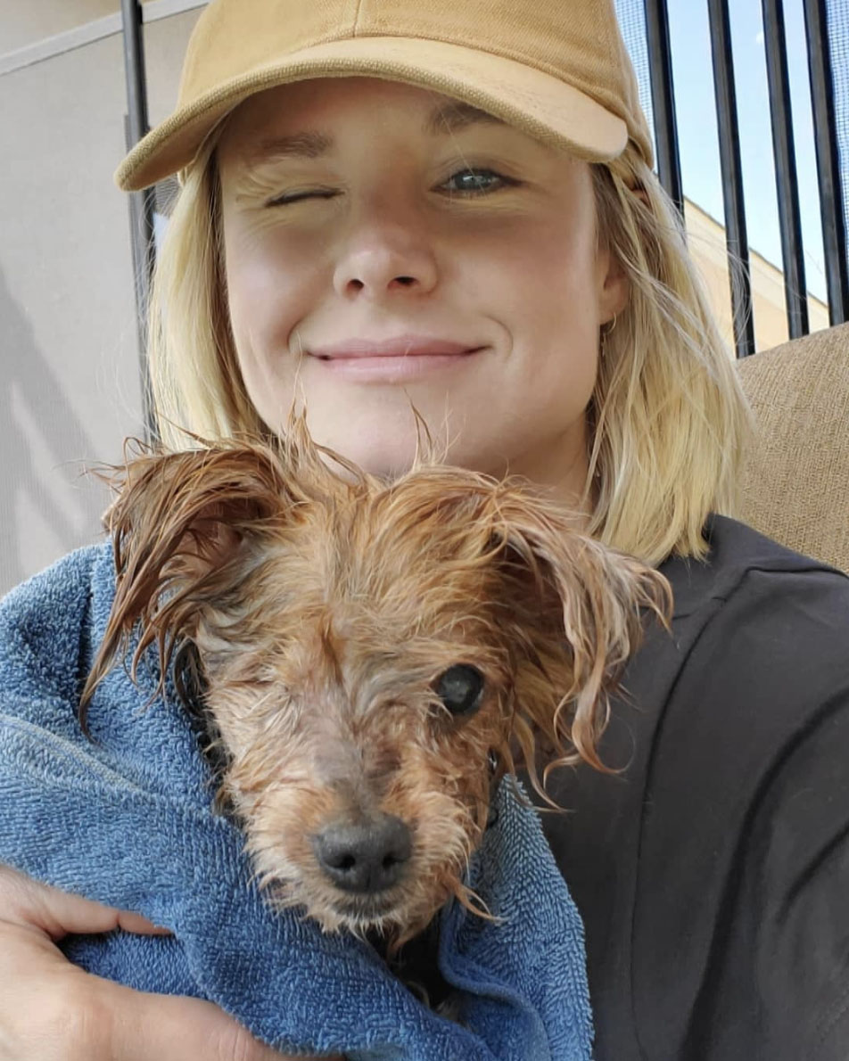 Kirsten Bell & Triscuit Pampered Pets and their Famous Owners.jpg