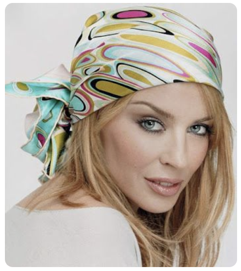 Kylie Minogue headscarf Cleo Ferin Mercury.png