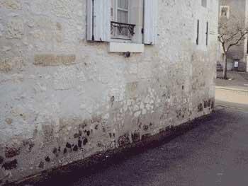 Murs froids et humides