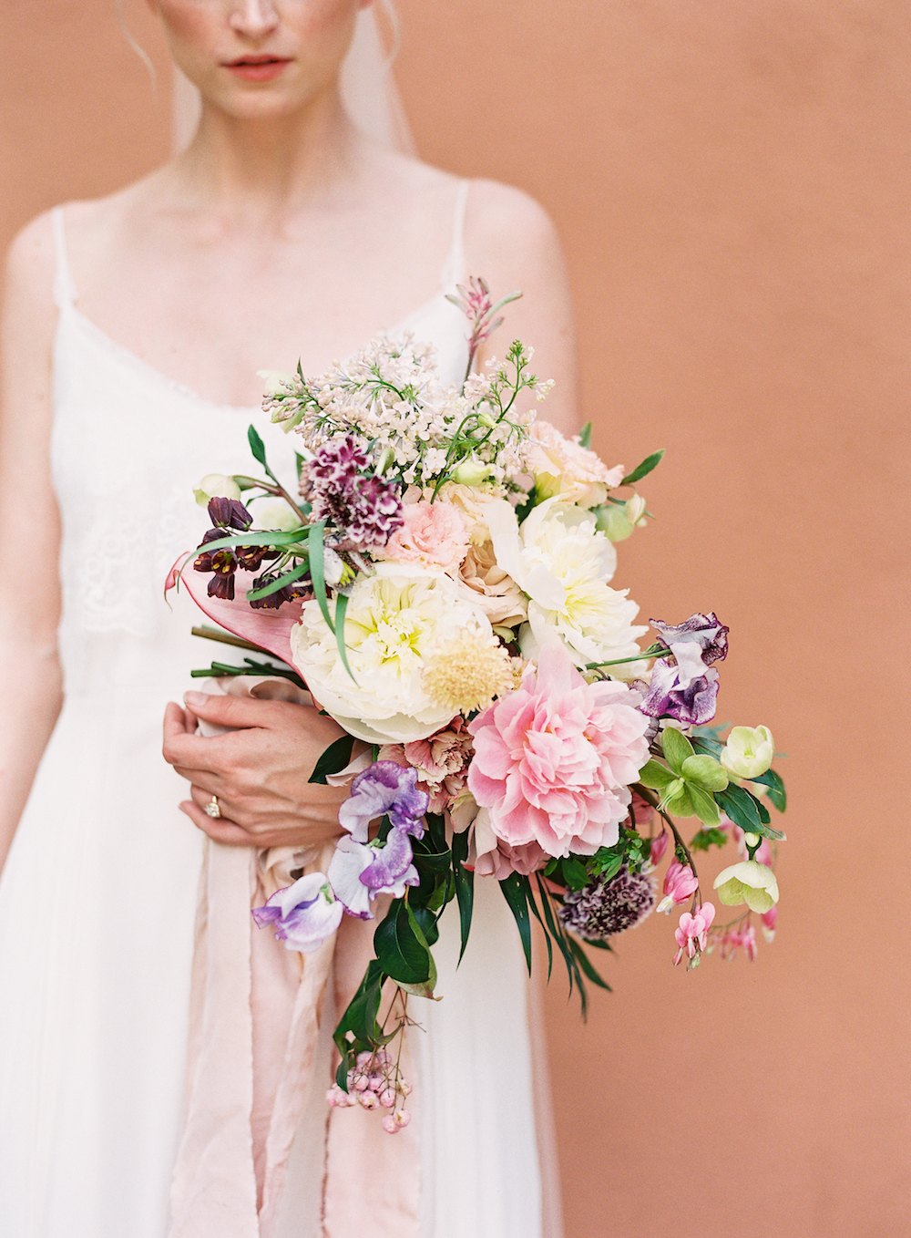 Peony Wedding Bouquet - Wedding Florist in Dallas