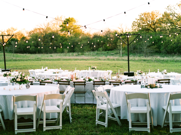 Outdoor Wedding Reception Dallas - Dallas Wedding Planner