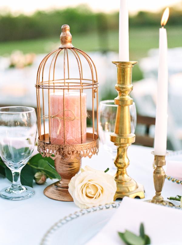 Birdcage Wedding Centerpiece - Wedfully Yours