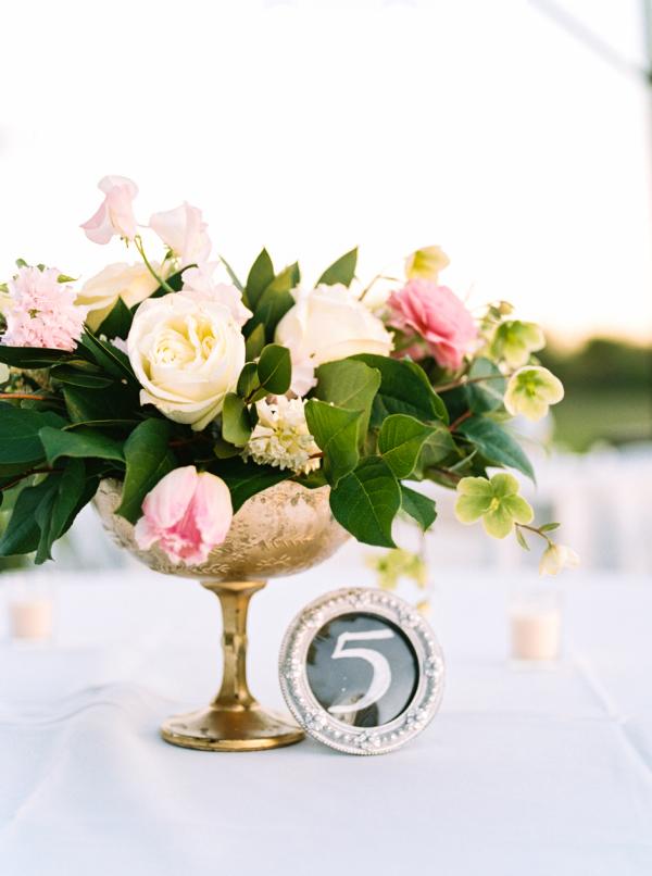 Gold Wedding Decor - Dallas Wedding Flowers