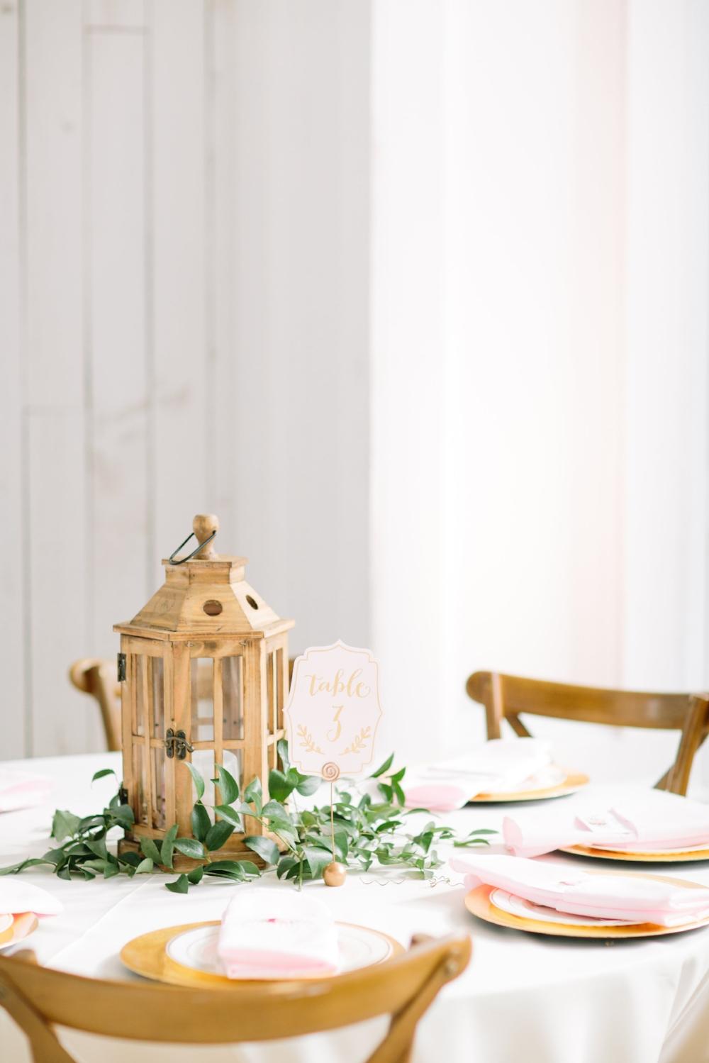 Lantern Centerpiece - Dallas Wedding Florist