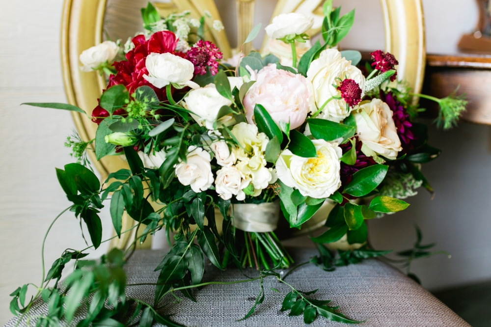 Organic Bridal Bouquet - Wedfully Yours