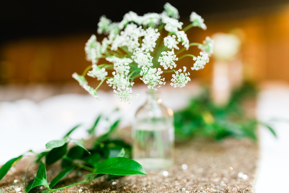 Stem Vase Centerpieces - Dallas Wedding Florists