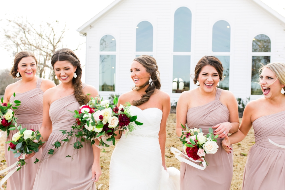 Nude Bridesmaid Dresses - Wedding Planner in Dallas