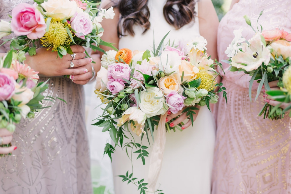 Pastel Bridal Bouquet - Wedding Florists in Dallas