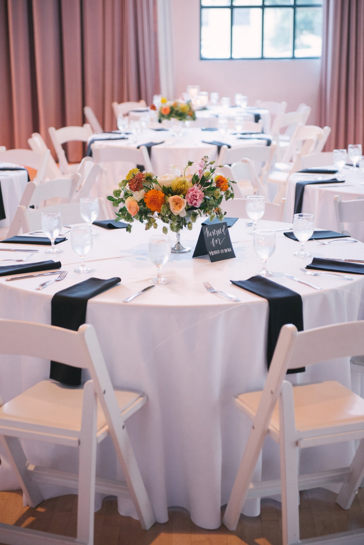 Bass Hall Wedding Reception - Wedding Florists in Dallas
