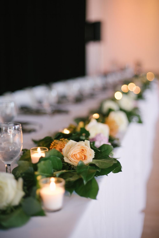 Rose Garland Wedding Decor - Wedding Florists in Dallas