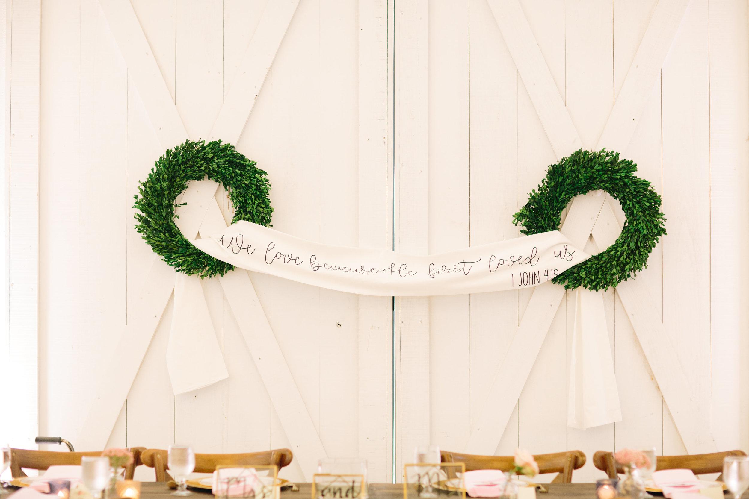 Bible Verse Wedding Ideas - Wedding Florist in Dallas