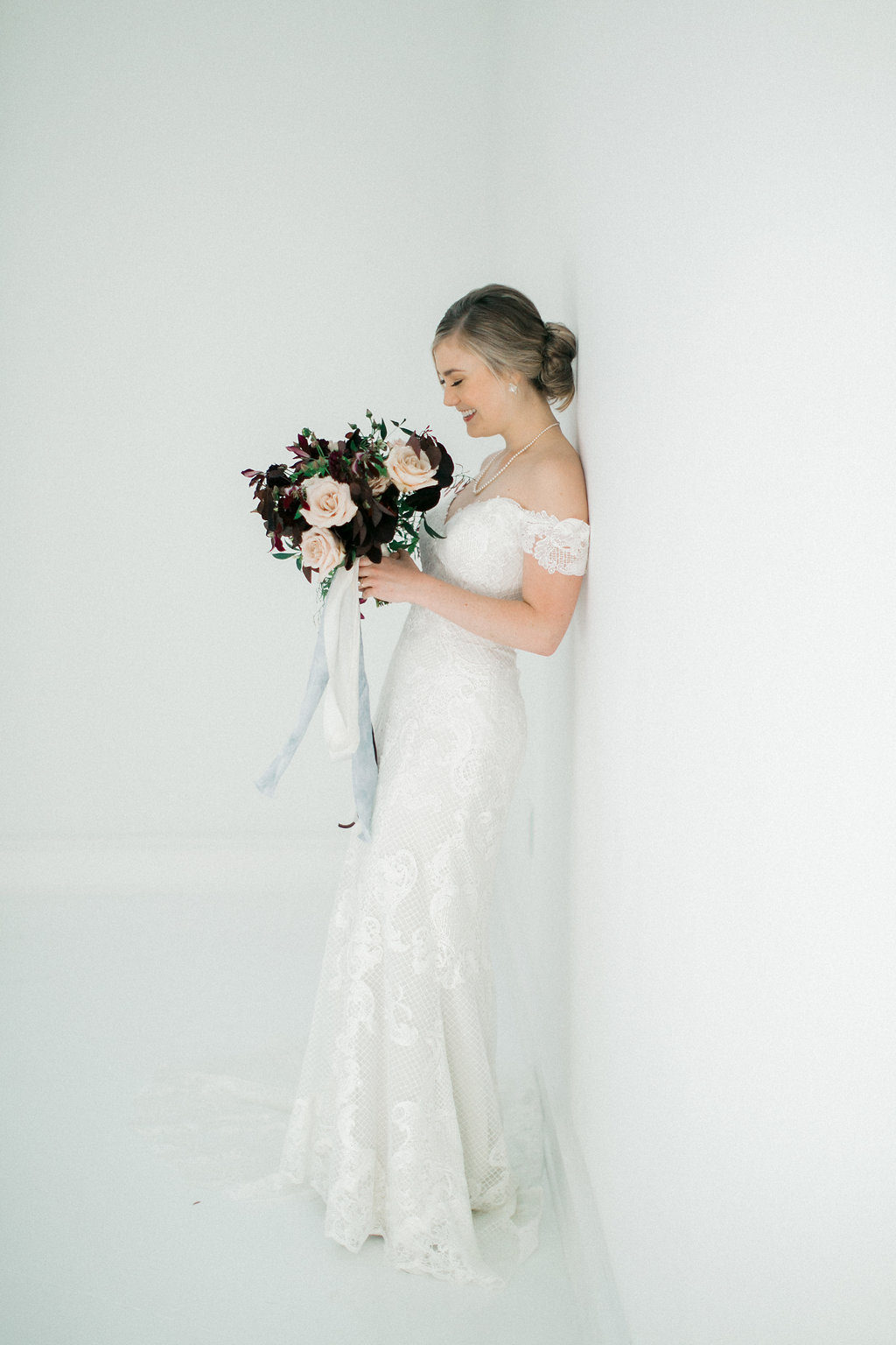 Bridal Portrait Sessions - Dallas Wedding Florist
