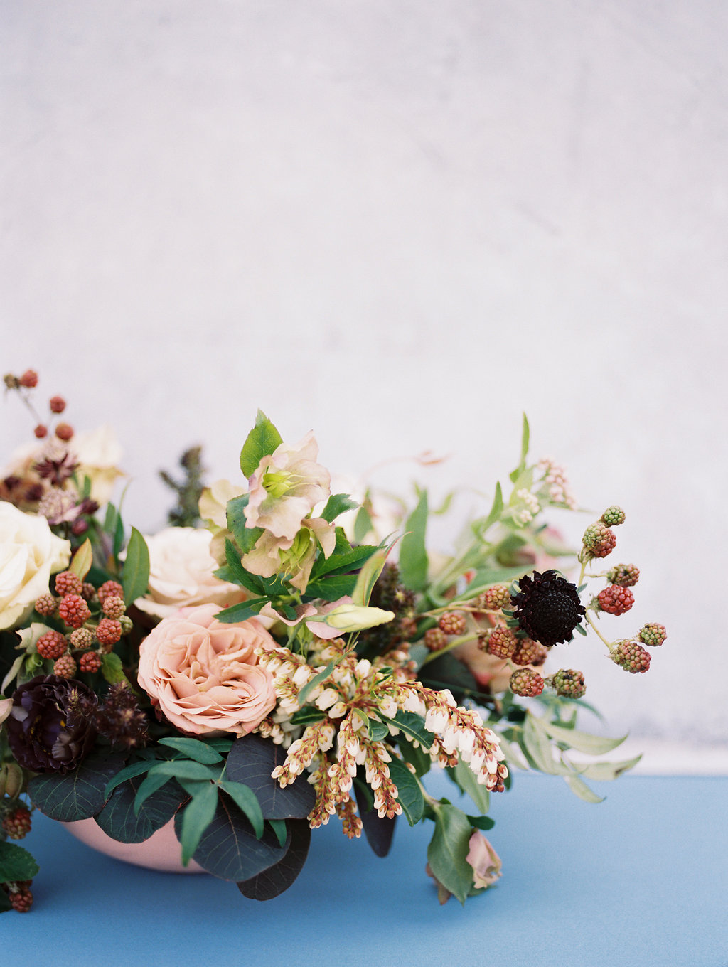 Garden Inspired Wedding Centrepieces - Lubbock Wedding Florists