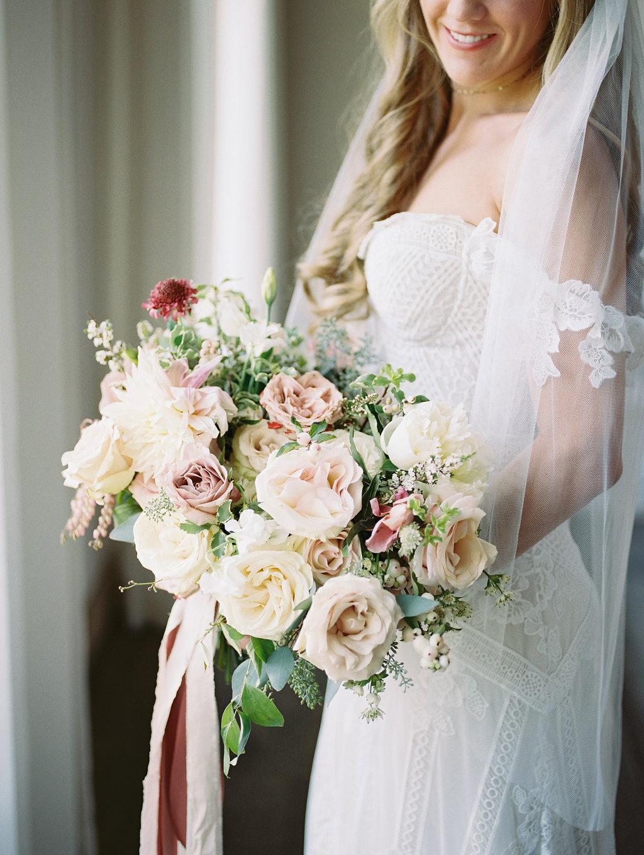 Garden Inspired Wedding Flowers - Texas Wedding Florists
