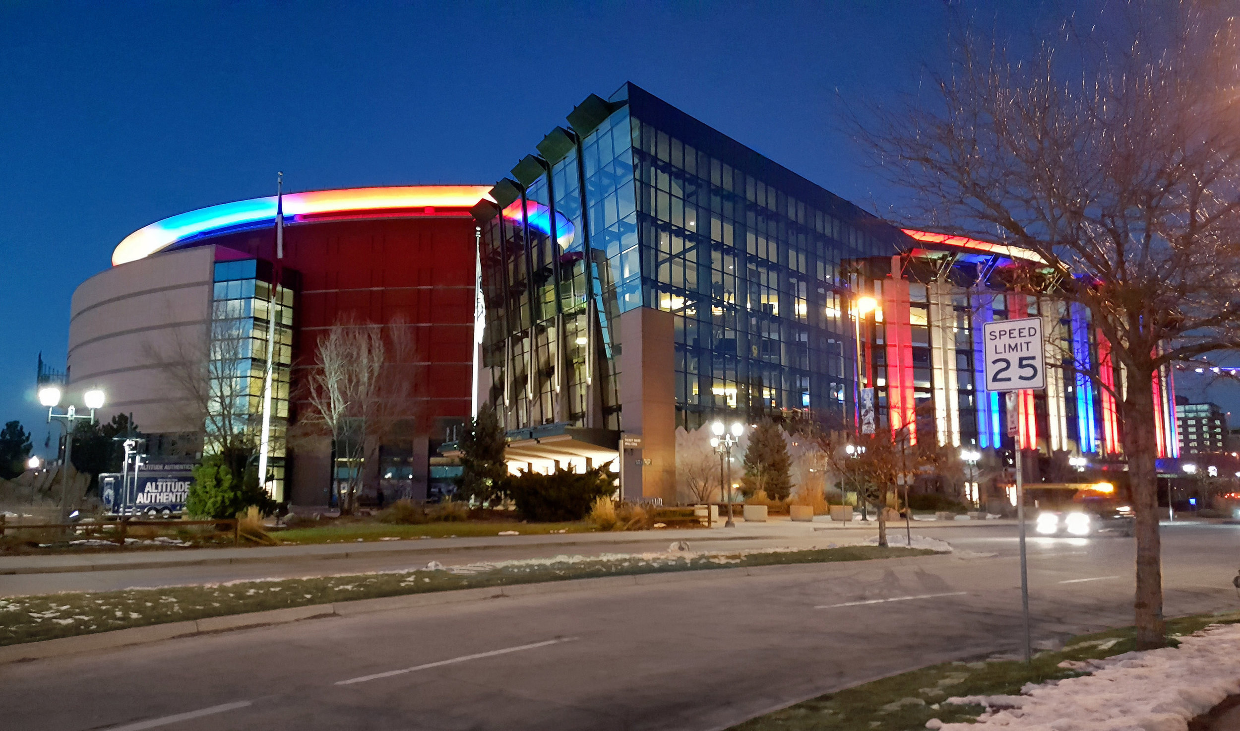 Award of Merit - Pepsi Center Exterior Lighting EnhancementsMichael Lindey - HLB Lighting Design