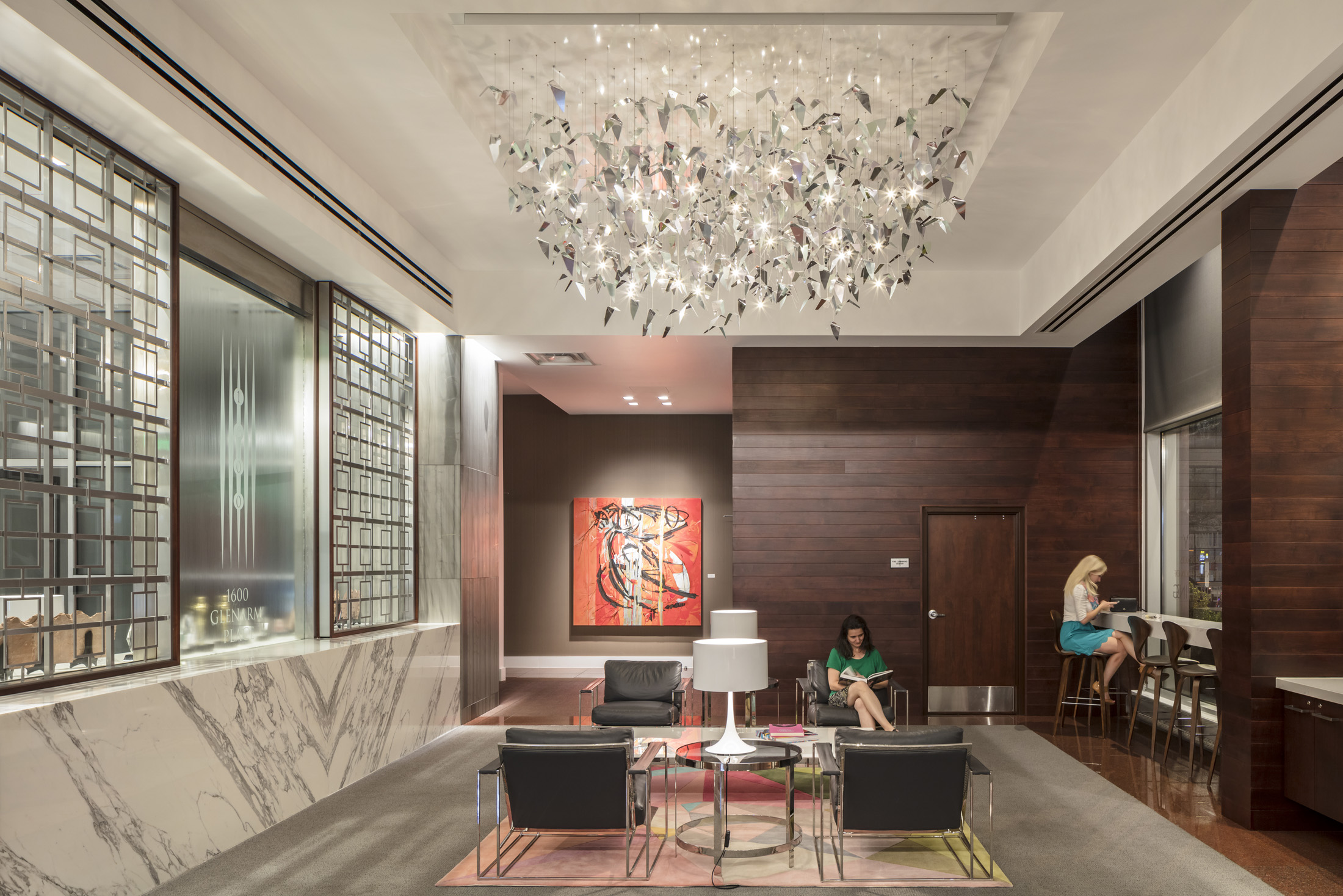 Award of Merit - 1600 Glenarm Lobby RenovationLisa Bartlett - Davis Partnership Architects