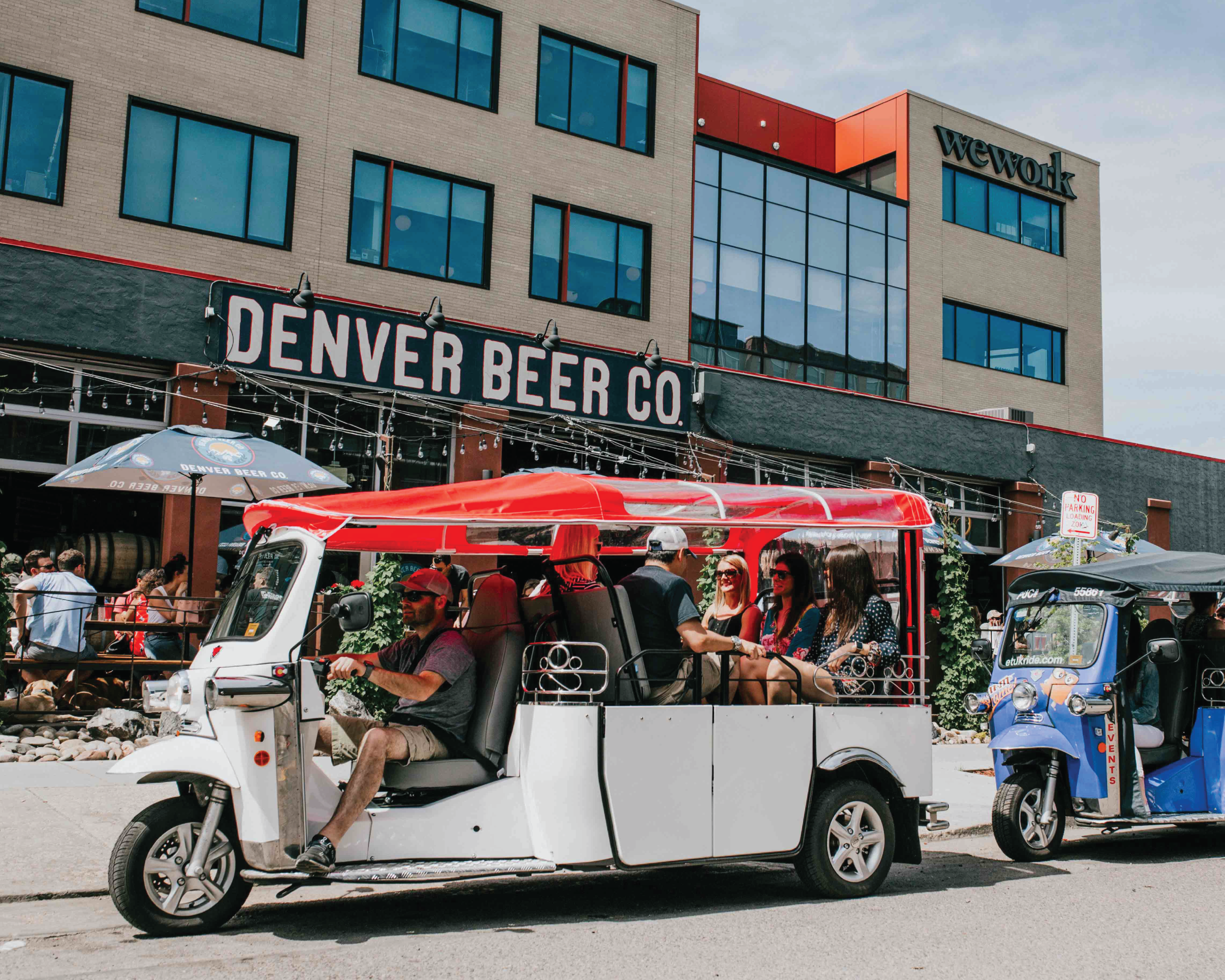 Electric Tuk Tuk Denver Beer Tour for Group of Four