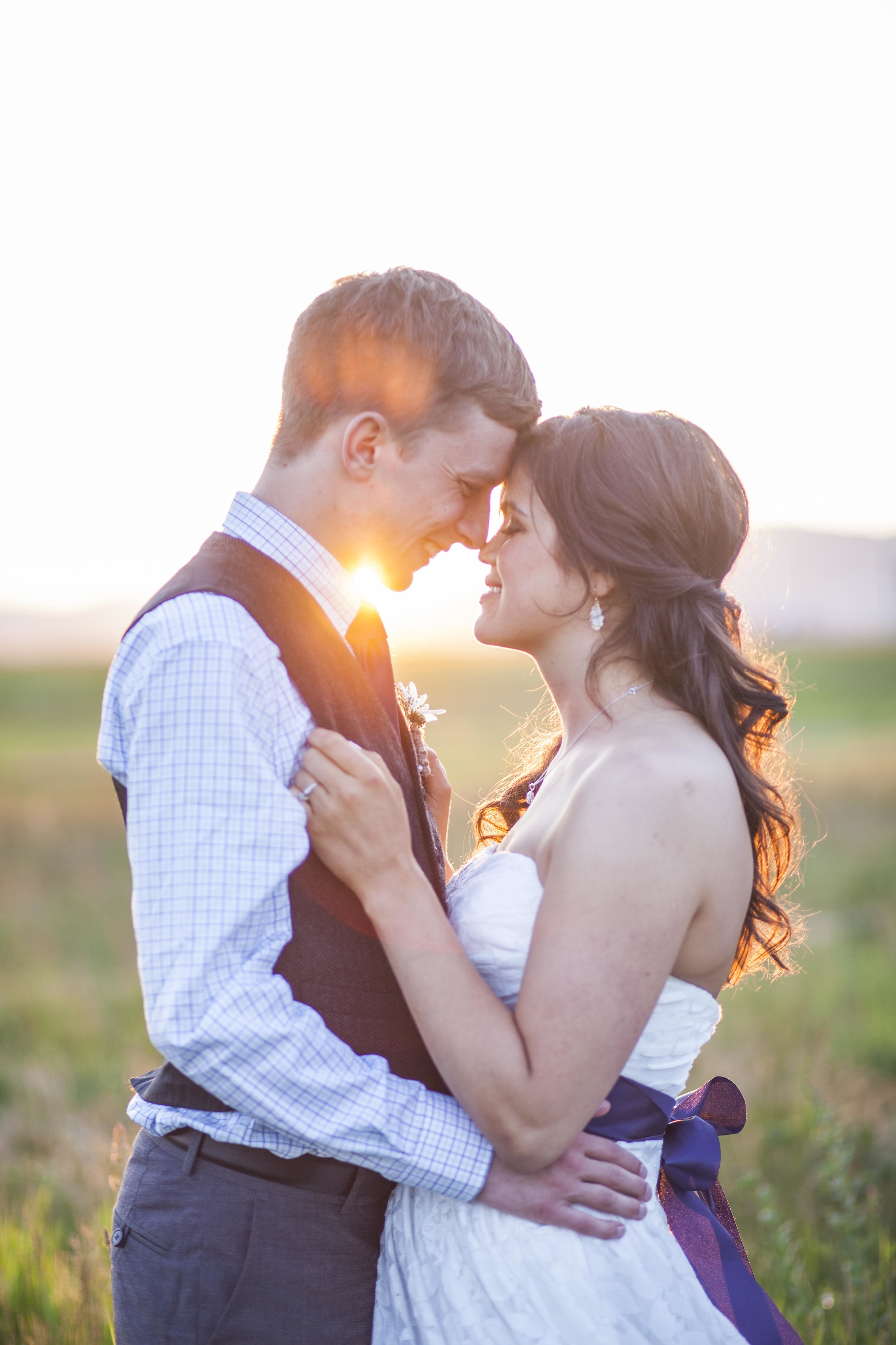 We captured this gorgeous couple on their wedding day in Idaho. We love that our photography and videography takes us to the corners of the globe to document weddings and families.